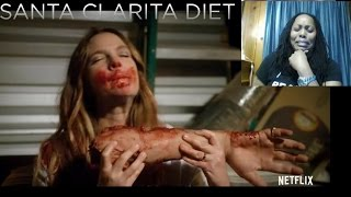 Santa Clarita Diet | Official Trailer | Netflix Reaction
