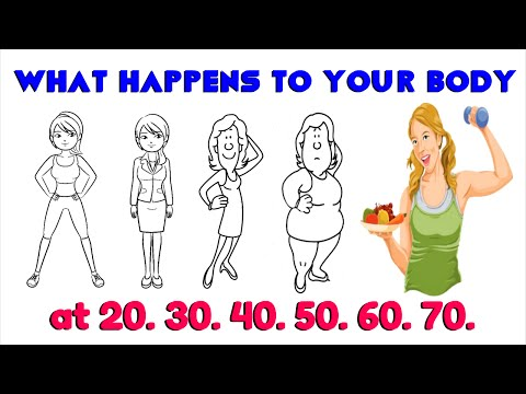 Changes to Your Body at 20, 30, 40, 50, 60, 70 (Shocking Facts!)