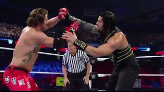 RomanReigns vs AJStyles wwe payback 2016 HD