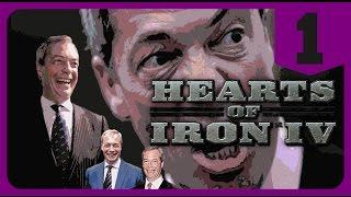 Hearts of Iron IV - Modern Day Mod - Farage Britain #1 [ Millennium Dawn Gameplay ]