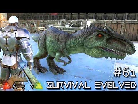 ARK Survival Evolved BABY GIGANOTOSAURUS Ep 61 Server Gameplay