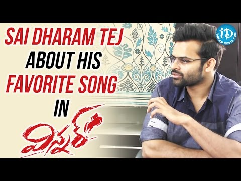 Sai Dharam Tej About His Favorite Song In Winner || #Winner || Special Interview