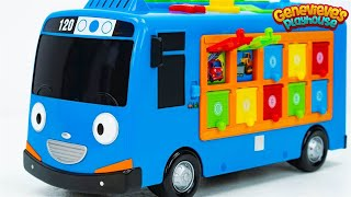 Best Educational Toy Videos for Kids: Fun Kid Learning Movie Tayo the Little Bus Cute Kid Genevieve!