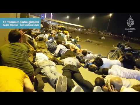 15 Temmuz darbe girişimi sırasında Boğaziçi Köprüsü'nde yaşananlar
