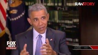 Obama tells Fox News: