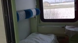 Inside RZD WLABmee Berlin - Warsaw with Russian Sleeping Car