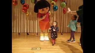 Abby meeting Dora