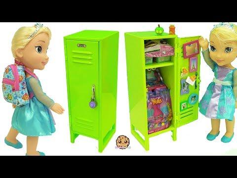 Xxx Mp4 American Girl School Locker With Surprise Blind Bag Toys Disney Frozen Queen Elsa Doll 3gp Sex