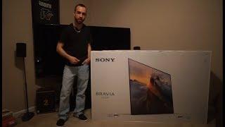 Sony Bravia OLED 4K UHD TV Unboxing & Setup (XBR65A1E)