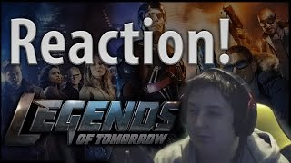 Legends of Tomorrow S01E04 (White Knights) - [Reaction!]