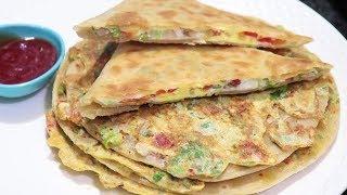 Mughlai Egg Paratha Recipe | Crispy and Tasty Paratha Recipe | Breakfast Special Recipe