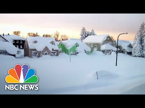 Xxx Mp4 Buffalo In State Of Emergency After Massive Snowfall NBC News 3gp Sex