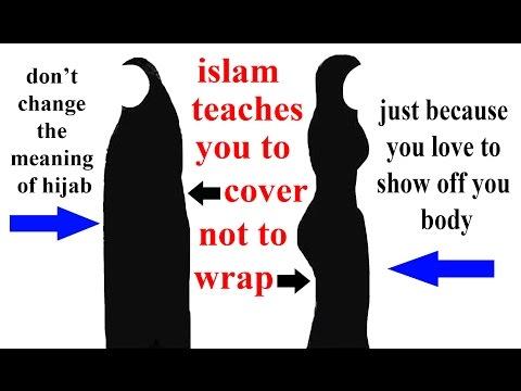 ruling for skin tight cloths & stylish hijab in islam