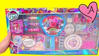 Set de brillos labiales y esmaltes de uñas de MLP | Muñecas y juguetes con Andre para niñas y niños