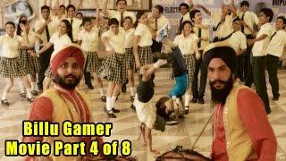 Billu Gamer Movie Part 4 of 8 I Live VFx Bollywood Movie I Girls Teased I Live cum Animation Film