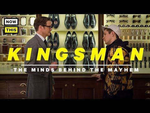 Kingsman: The Minds Behind the Mayhem | NowThis Nerd