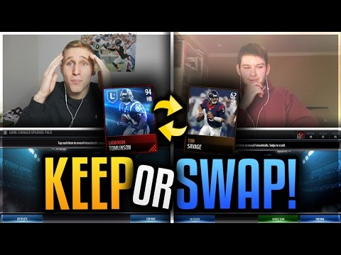 KEEP OR SWAP Vs. Justabro Madden Mobile 17