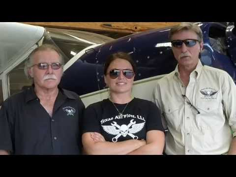 Airplane Repo crew Kevin Lacey Gary Cobb & Heather Sterzick