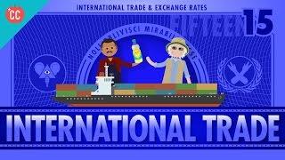 Imports, Exports, and Exchange Rates: Crash Course Economics #15