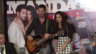 Sunny Leone & Daniel Weber At Magazines Launch