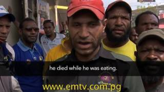 Homeless man dies in Port Moresby