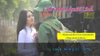 Chờ Anh Người Lính - Zackp || [ Lyric + Karaoke Video ]