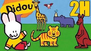 2 heures de Didou, didou dessine-moi les animaux du Zoo | Compilation #4