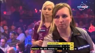 BDO World Darts Championship 2015 Round 1 Fallon Sherrock vs Maria Mason