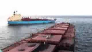 tanker collision 2012