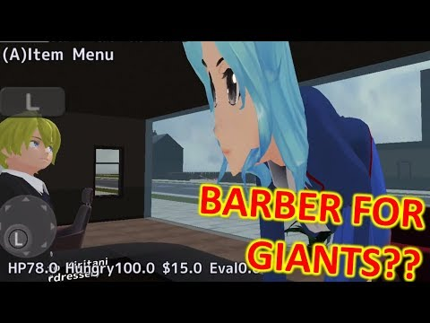 Xxx Mp4 School Girls Simulator GIANT WANTS TO CUT HAIR 3gp Sex