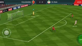 Fifa Mobile Portugal VS Iran