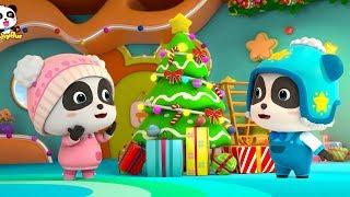 【聖誕節🎅】快來看看奇奇妙妙準備的聖誕禮物 | 兒歌 | 童謠 | 動畫 | 卡通 | 寶寶巴士 | 奇奇 | 妙妙