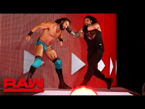 Xxx Mp4 Roman Reigns Unleashes An All Out Assault On Jinder Mahal Raw May 14 2018 3gp Sex