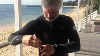Lifeproof Waterproof IPhone Case Using Lifeproof Armband, Belt Clip and H2O Audio Earphones.