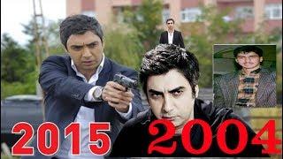 كيف اصبح شكل مراد علمدار بطل مسلسل وادي الذئاب  من عام 2004 الي عام 2015
