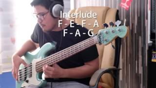 Hanya didalam Nama-Nya (Bass Cover Vicky Arif Setiawan)