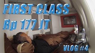 Garuda Indonesia FIRST CLASS ke London | VLOG #4