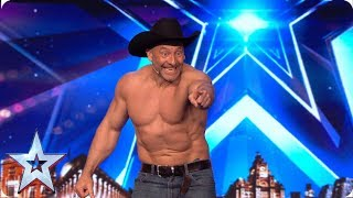 Matt Stirling stuns the Judges with incredible movie magic | Auditions | BGT 2019
