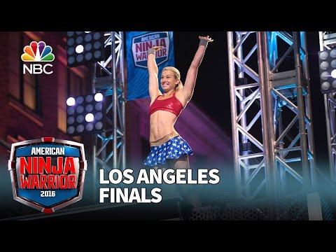 Jessie Graff at the Los Angeles Finals American Ninja Warrior 2016