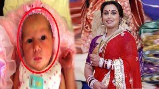 Rani mukherjee daughter Adira's first pics!