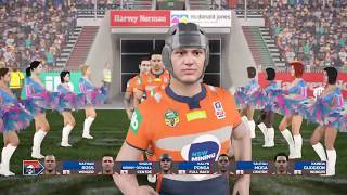 Broncos Career 2018 - Rugby League Live 4 (round 19)