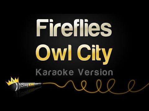 Download Lagu Owl City - Fireflies (Karaoke Version)