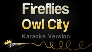 Owl City - Fireflies (Karaoke Version)