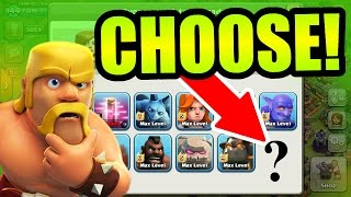 Clash Of Clans - YOU CAN CHOOSE A NEW ARMY!! - I NEED YOUR HELP!