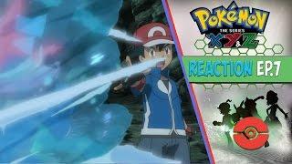 Pokemon XYZ Anime Reaction Ep. 7 - Decisive Battle in the Ninja Village!