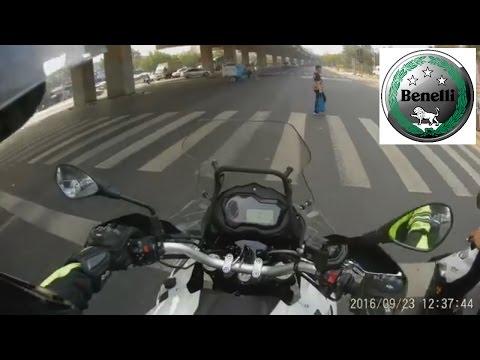 Benelli TRK 502   Test Ride 1