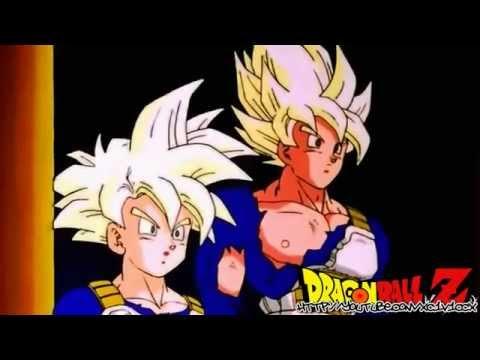 Goku y Gohan salen de la Sala del Tiempo HD