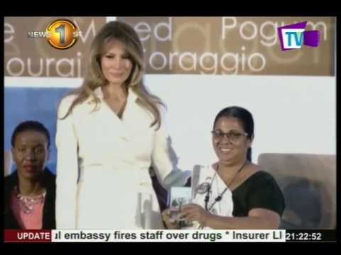 "Xxx Mp4 News 1st US First Lady Presents Sandya Eknaligoda With The ""International Women Of Courage"" Award 3gp Sex"