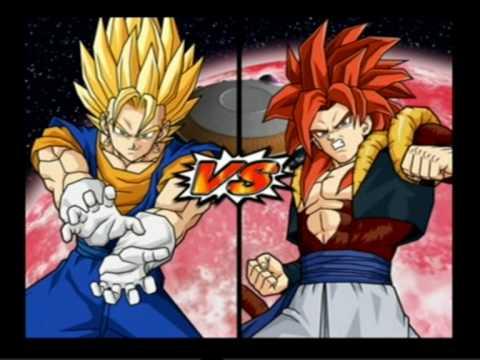 Dragonball z budokai tenkaichi 3 gogeta vs super vegito 2 Players