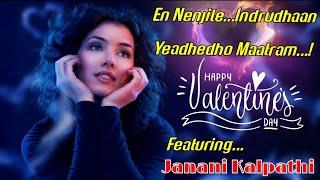 En Nenjile Tamil song (A girl in love)